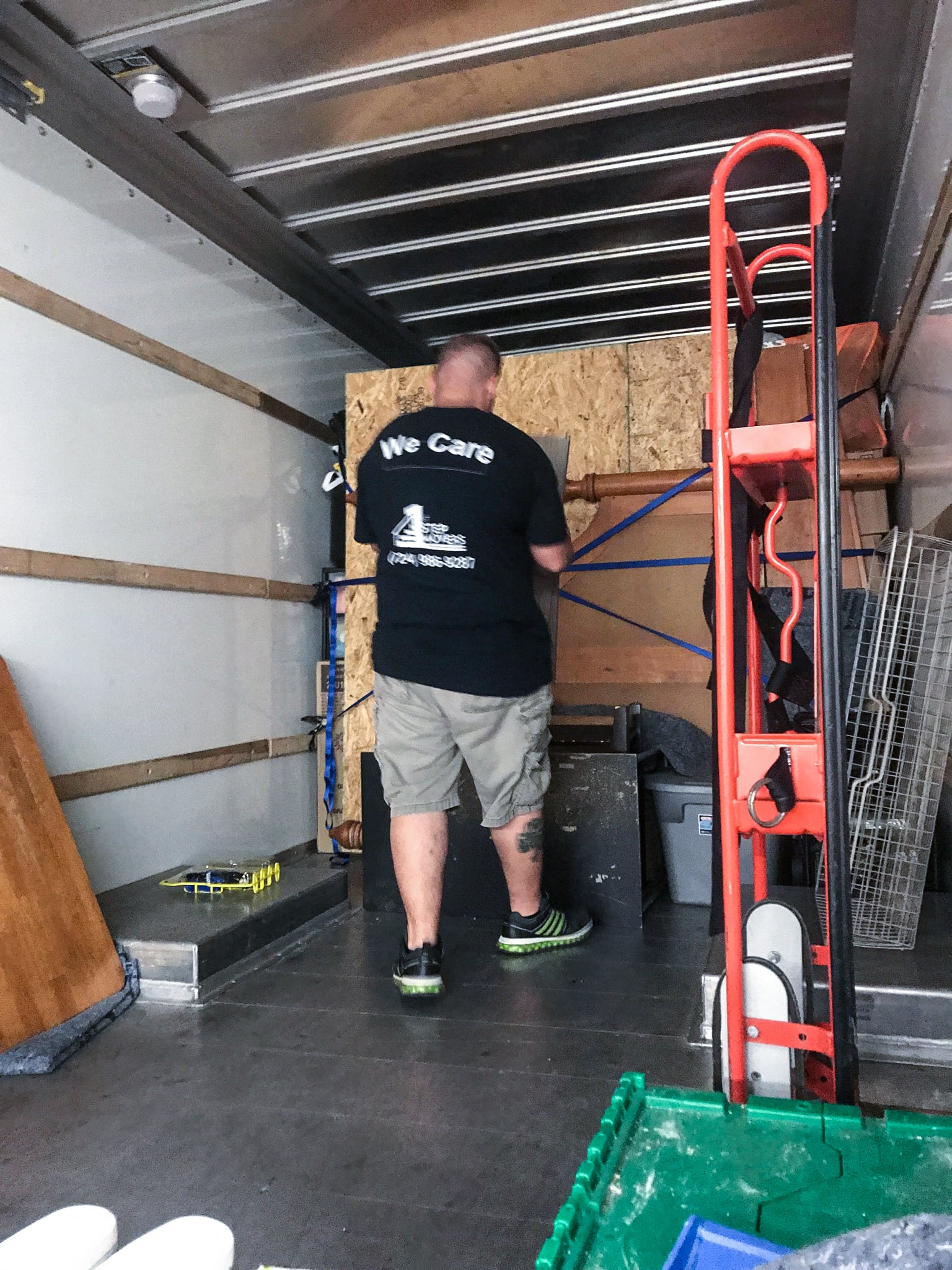 Packing the Truck for a Move 1st Step Movers