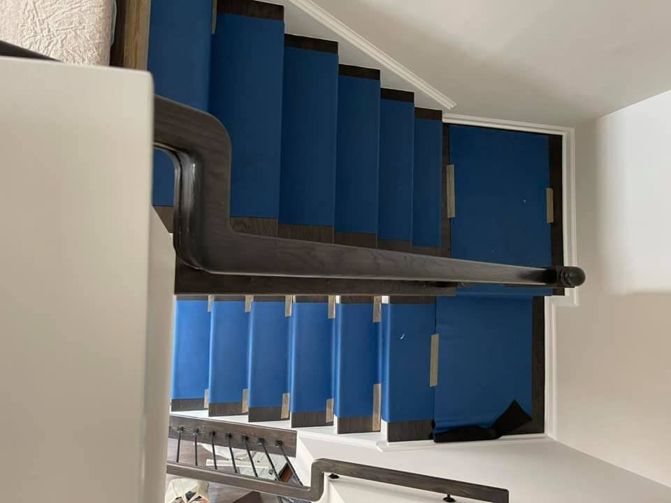 Flights Of Stairs on a Multiple Story Apartment