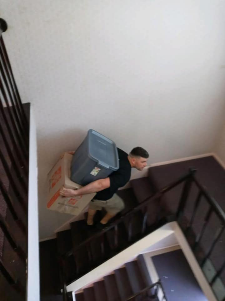 Moving With Multiple Flights of Stairs